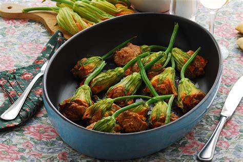 fiori di zucca ricette al forno fiori di zucca al forno l idea per preparare e cucinare