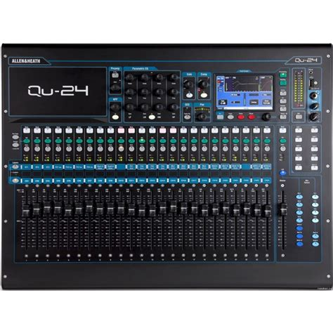 Mixer Qu 24 jual allen heath qu 24 24 channel digital mixer