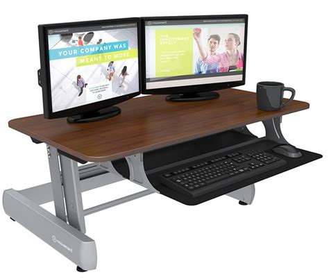 inmovement standard sit stand desk inmovement elevate desktop dt2 inmovement standing desk