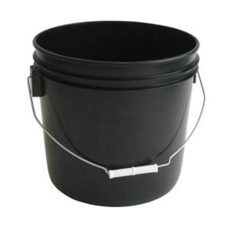 argee 3 5 gal black pail 10 pack rg503blk 10 the home