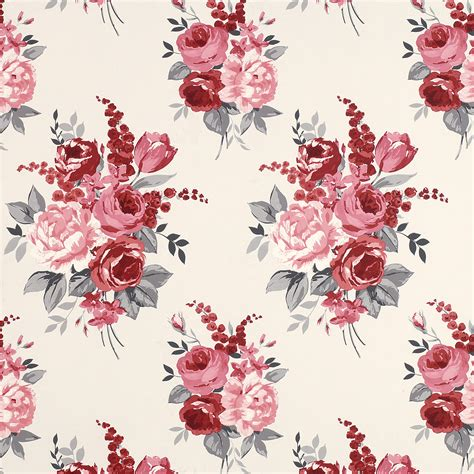 floral wallpaper designs this is a chiswick cranberry floral wallpaper made by