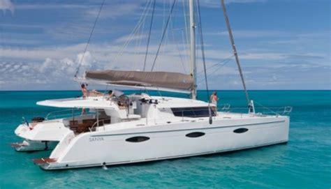 catamaran living fountaine pajot sanya 57 resort living on a cat boats