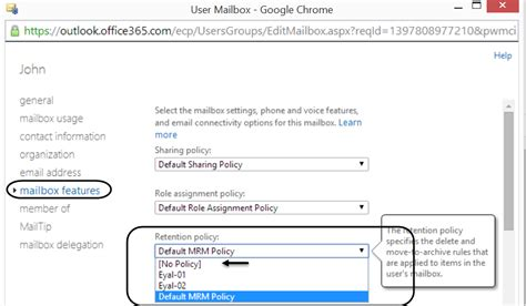Office 365 Retention Policy Recover Deleted Mail Items Office 365 O365info
