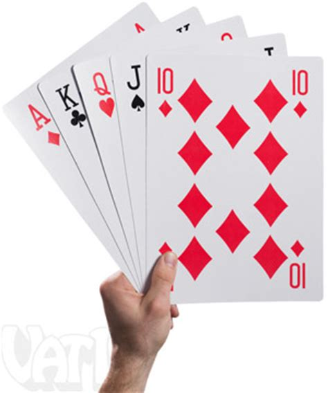 Printable Giant Deck Of Cards | king size playing cards 10 times the size