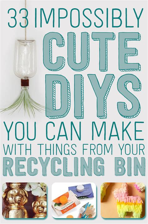 What Can You Make Out Of Recycled Paper - 33 impossibly diys you can make with things from your