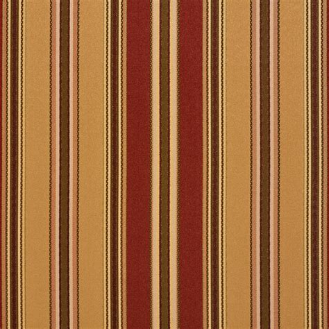 upholstery fabric stripes gold green burgundy various size stripes faux silk