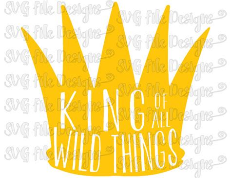 where the things are clip where the things are king of all things crown