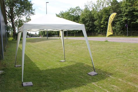 Easy Up Pavillon by Havepavillon 235x235 Cm Easy Up Natur Stort Udvalg I