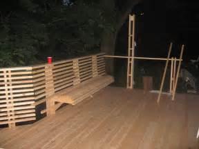 bench railing pdf diy wooden deck railing bench plans wooden