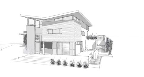 house sketch modern home architecture sketches design ideas 13435