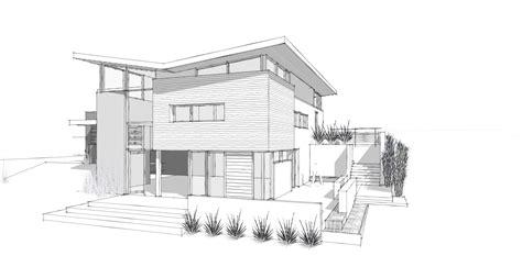 modern house plans simple architectural plan design