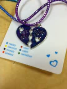 mood necklace colors clair s bff mood necklaces only 2 99 friendship never