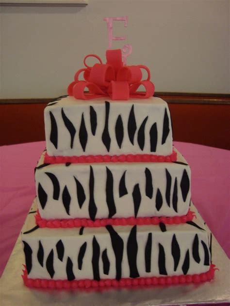 zebra baby shower cakes baby shower zebra print cake cakecentral