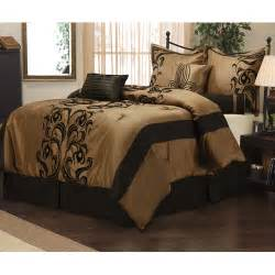 Walmart Bedroom Comforter Sets Helda 7 Bedding Comforter Set Walmart