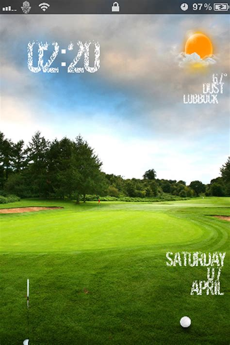 Golf Themed Ls ls golf slider iphone 4s theme nature landscape iphone themes winterboard themes