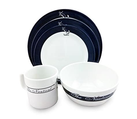 boat dinnerware set nautical dinnerware