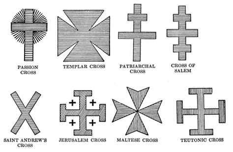 the triple bar cross of the gnostics popes templars and