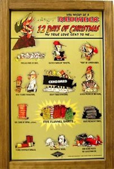 home decorators 12 days of deals redneck jeff foxworthy 12 days of christmas holiday wood