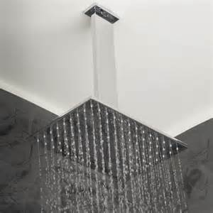 lacava cubista ceiling mount showerhead modern
