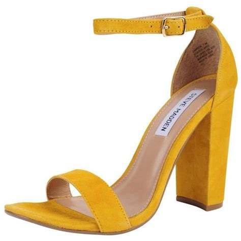 yellow high heels sandals 262 best fashiontaken101 polyvores images on