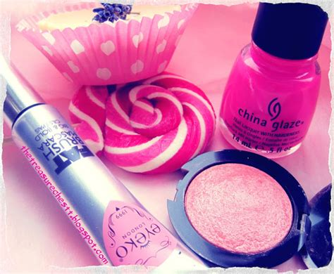 Products To Make You Feel Girly by The Treasure Chest Pink Pretties The Girly Products