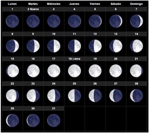 calendario de luna llena 2016 el calendario lunar 2016 agosto esoterismos com
