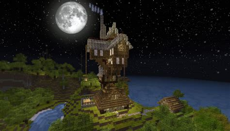 The Burrow Floor Plan by The Burrow From Harry Potter Minecraft Project