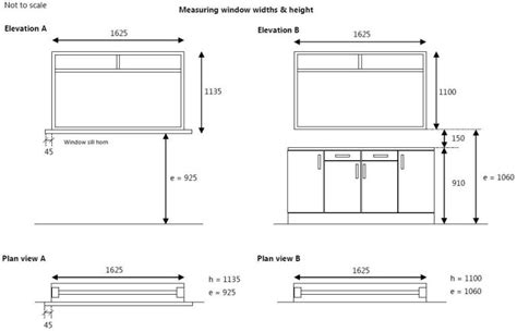 kitchen cabinets measurements stunning height of kitchen cabinets