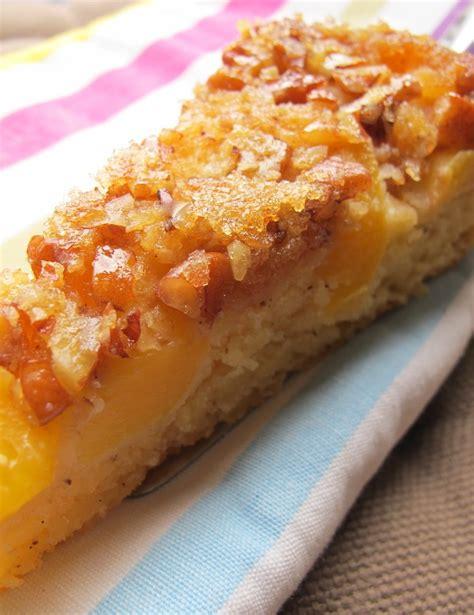 pekannuss kuchen cynthia barcomi s cake mit pfirsich und