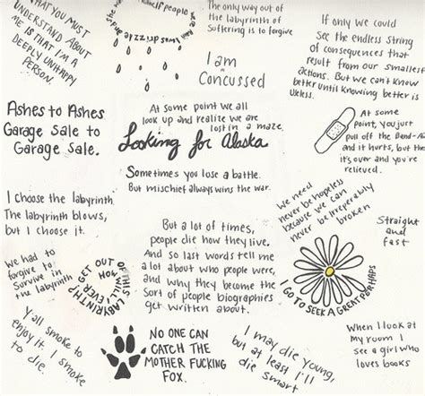 theme quotes from looking for alaska looking for alaska