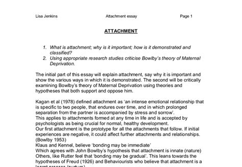 Deprivation Model Essay bowlby maternal deprivation essay euthanasiapaper x fc2