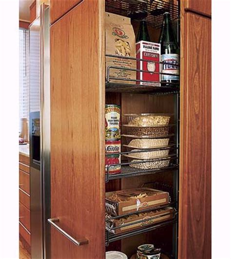 small galley kitchen storage ideas hideaway pantry a chef s small kitchen this house