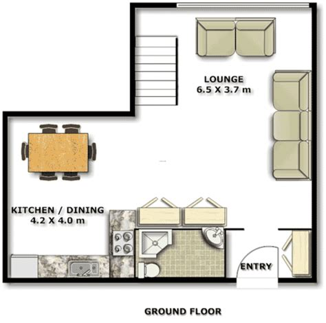 Tiny Apartment Floor Plans by Small Apartment Floor Plans Interior Design Ideas