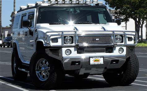 Quality Car Wallpapers   Hummer H2 SUV and SUT Vehicle Pictures