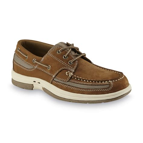 boat shoes online shopping thom mcan men s kellan 3 brown boat shoe shop your way