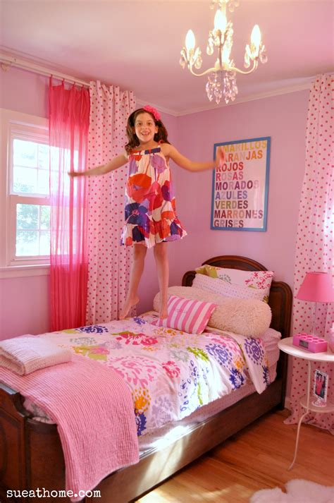 great girly bedroom corner option for sharing a room girly girls room sue at home