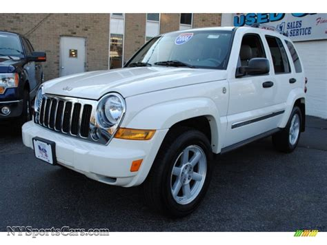 2006 Jeep Liberty Limited 2006 Jeep Liberty Limited 4x4 In White 147669