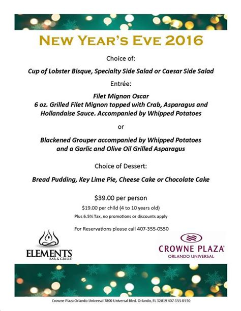 new year dinner malaysia 2016 new years dinner orlando fl dec 31 2016 5 00 pm