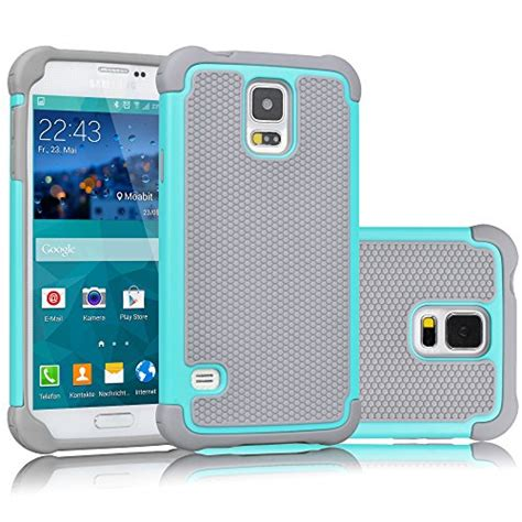 Cover Samsung S5 I9600 Hybrid Armor Defender With Kick Stand galaxy s5 tekcoo tm tmajor series shock absorbing