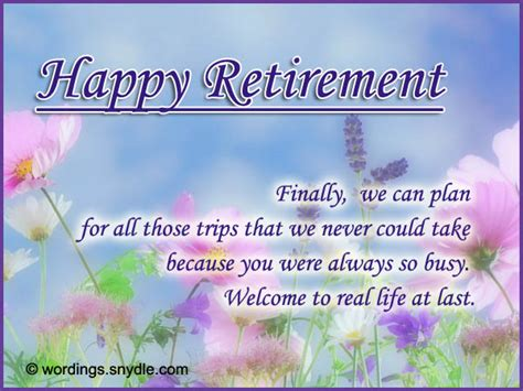 Cards For Retirement Wishes happy retirement wishes messages greetings cards images