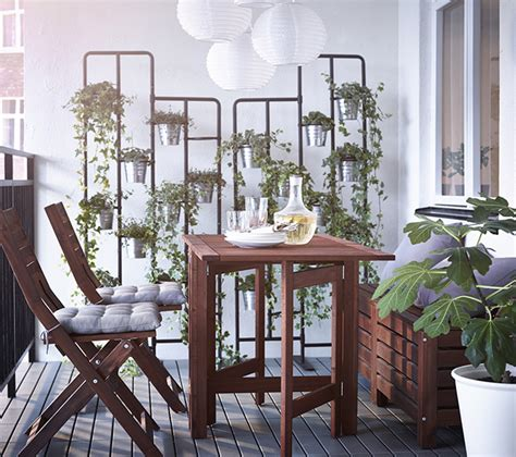 decorar terrazas peque as decoracion terrazas peque 241 as ikea