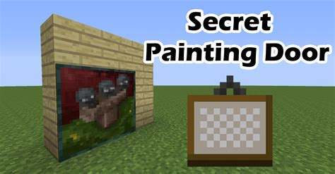 how do you make a door into a swinging bookcase what do you need to make a door in minecraft minecraft
