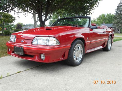 1987 ford mustang for sale 1987 ford mustang gt convertible 5 0 v8 hurst 5 speed for