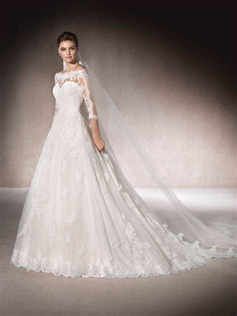 Brautkleider Prinzessin Spitze by Manoli Brautkleid Aus T 252 Ll Mit Effekt