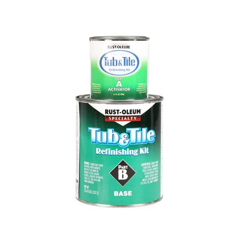 rustoleum bathtub refinishing kit reviews rust oleum tub tile refinishing kit white ace