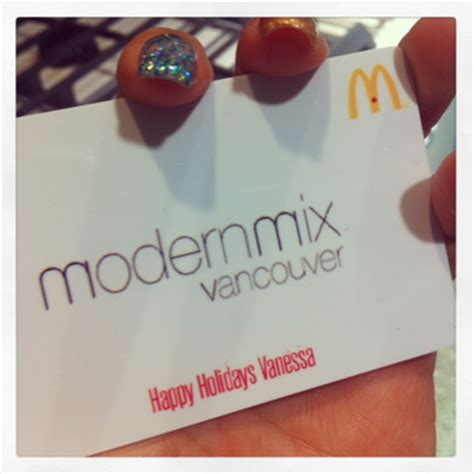 Can You Mail Gift Cards - mcdonald s personalized gift cards modern mix vancouver