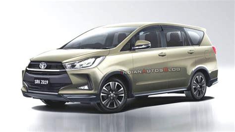 2020 toyota innova 2020 toyota innova crysta facelift rendered with stylish