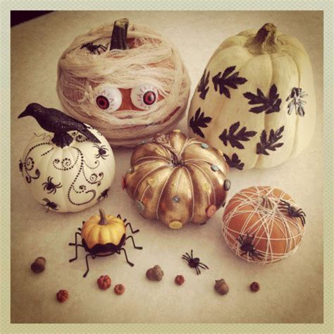 How To Decorate A Pumpkin Without Carving by No Carve Pumpkins Ideas For Decorating