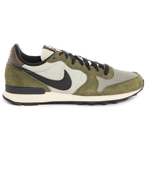 green sneakers nike nike internationalist khaki sneakers in green for