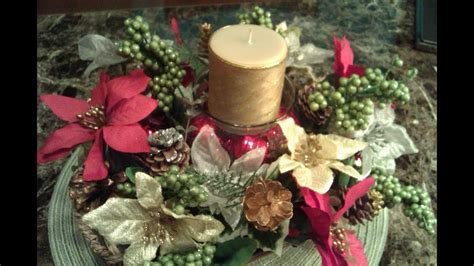 decoracion de navidad con velas